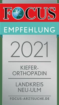 Focus-Auszeichnung-KFO-2021-Neu-Ulm
